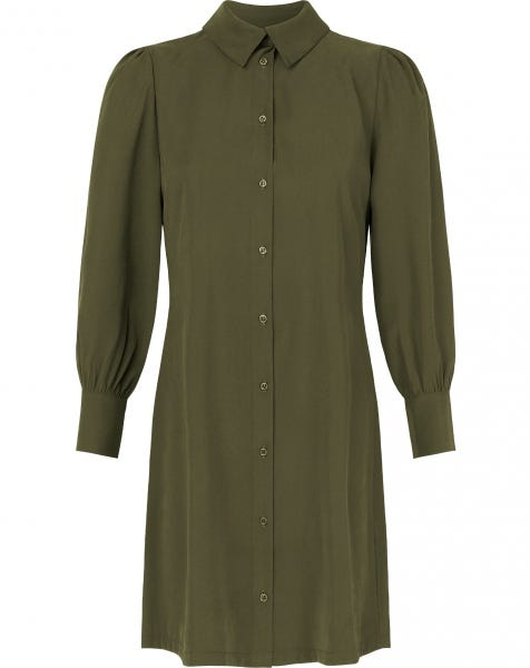 DORI BLOUSE DRESS ARMY