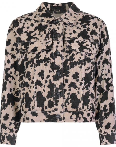COW JACKET BEIGE