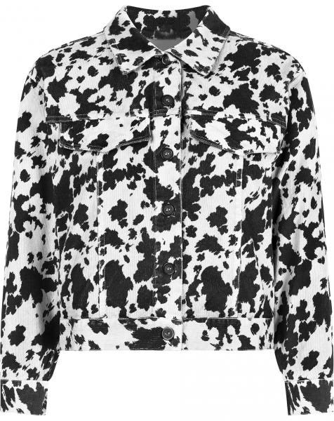 COW JACKET WHITE