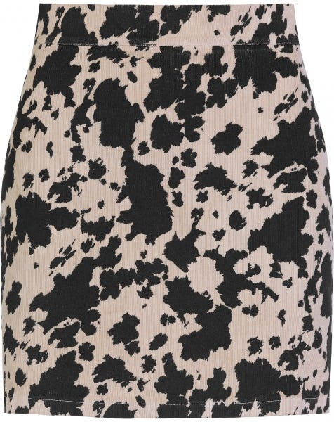 COW SKIRT BEIGE