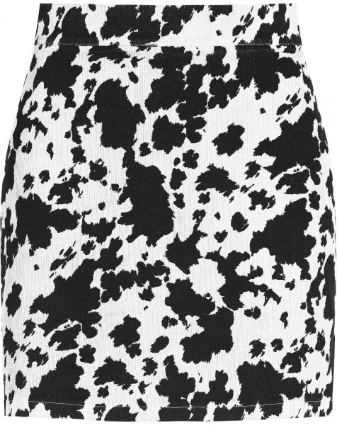 COW SKIRT WHITE