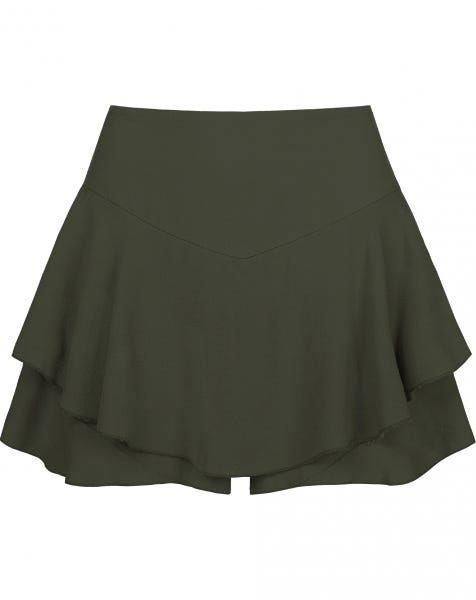 ABBY FALL SKORT ARMY