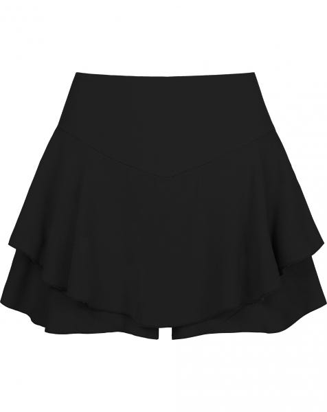 ABBY FALL SKORT BLACK