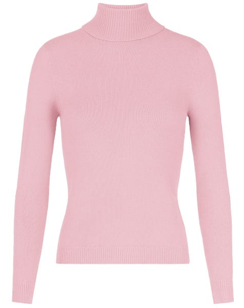 SOFT COL KNIT PINK