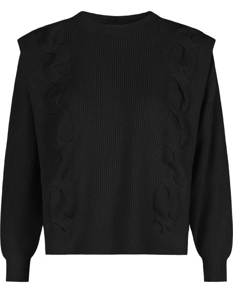 KYLIE KNIT BLACK