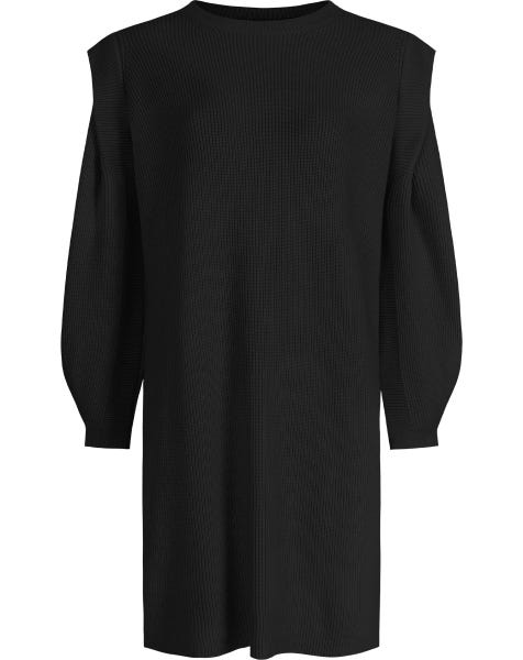 KYLIE KNIT DRESS BLACK