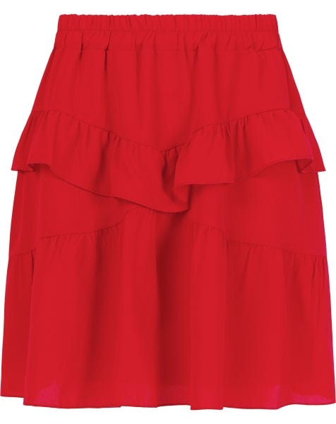 KENDALL SKIRT RED
