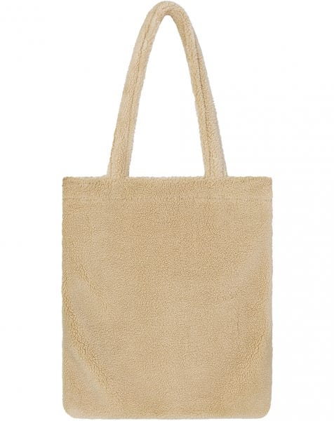 TEDDY TOTE BAG CREAM