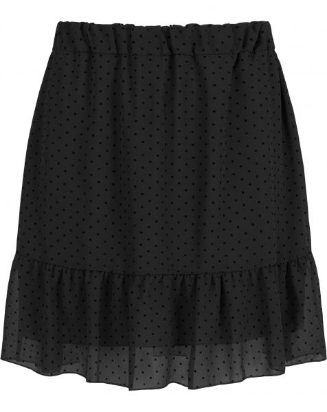 PERFECT DOTS SKIRT BLACK