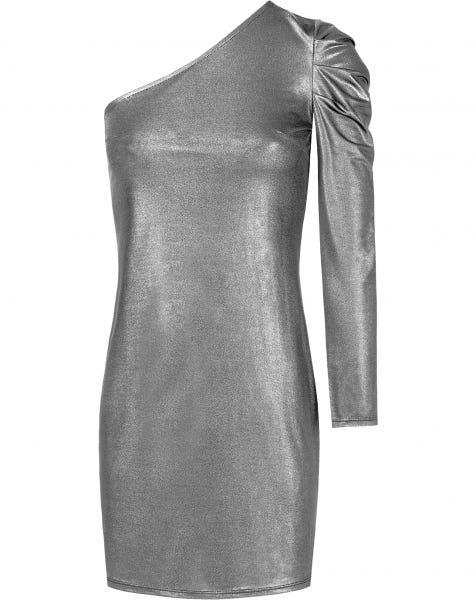 ROSELINE DRESS SILVER