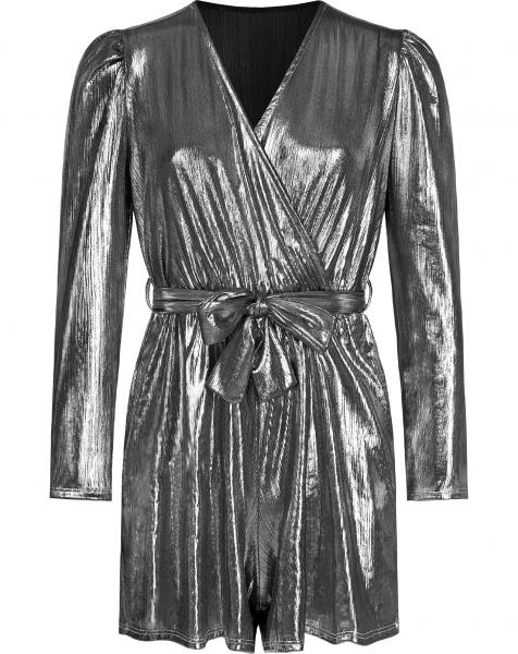 CELINE PLAYSUIT SILVER