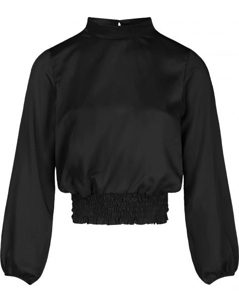 MILA BLOUSE BLACK