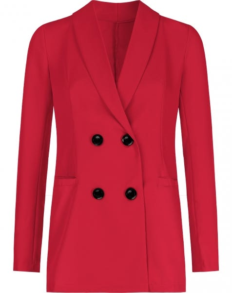 ROXY BLAZER RED