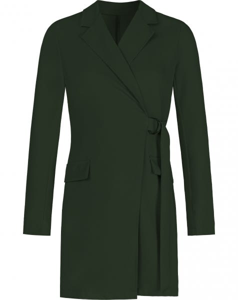 LOREN BLAZER DRESS ARMY