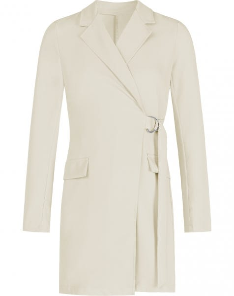 LOREN BLAZER DRESS BEIGE