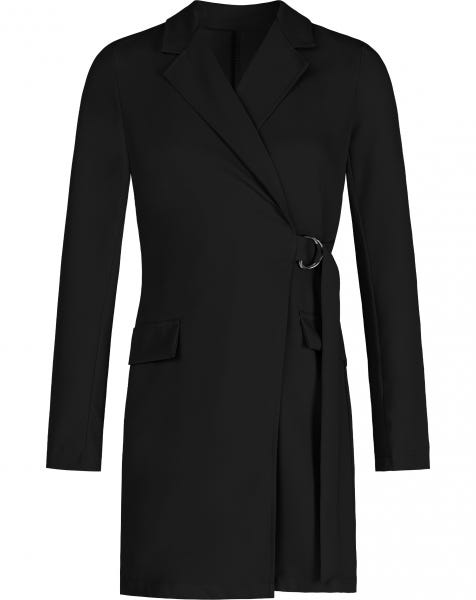 LOREN BLAZER DRESS BLACK