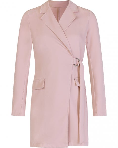 LOREN BLAZER DRESS PINK