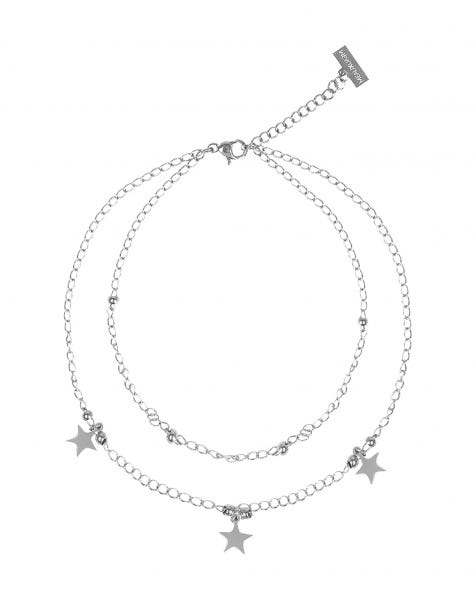 BE A STAR ANKLET SILVER