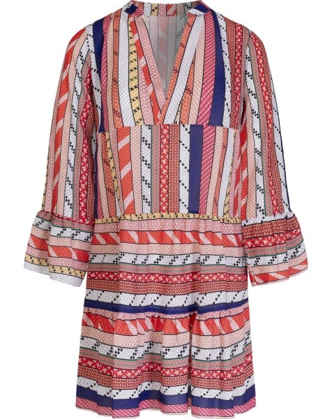 JOLY AZTEC DRESS MULTI