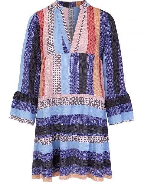 JOLY AZTEC DRESS PURPLE