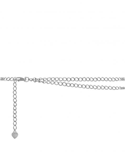 LAYER CHAIN BELT SILVER