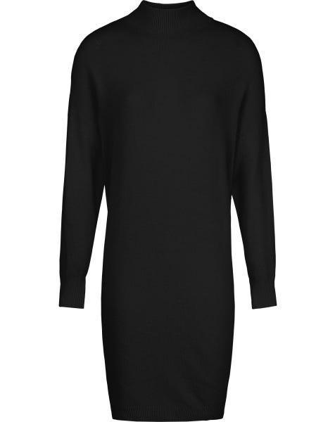 GIGI KNIT DRESS BLACK