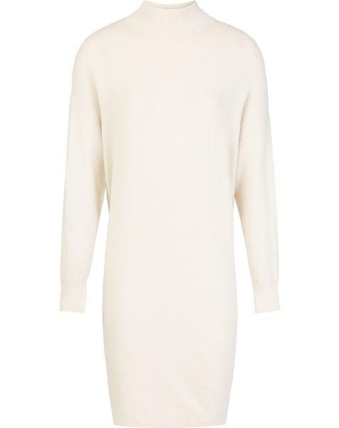 GIGI KNIT DRESS WHITE