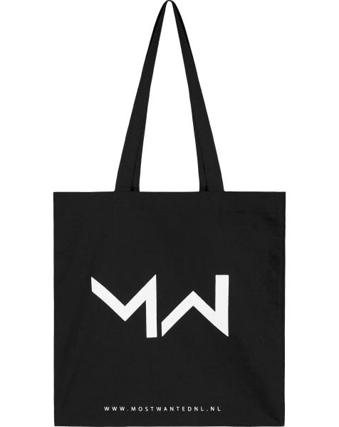 MOST WANTED CANVAS TOTE BAG