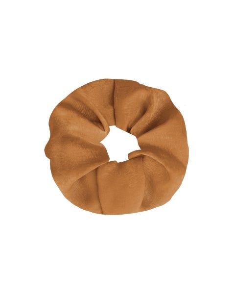 GIGI SCRUNCHIE GOLDEN RUST