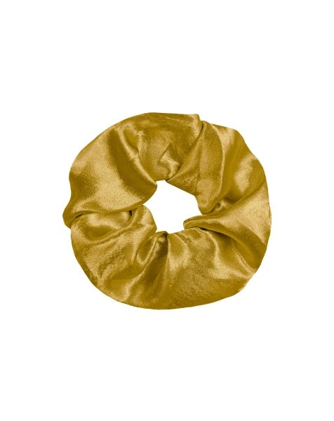 SHINY SCRUNCHIE GOLD