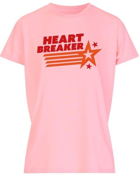HEARTBREAKER TEE PINK