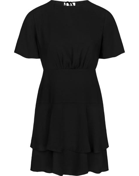 BEAUTIFUL LAYERS DRESS BLACK