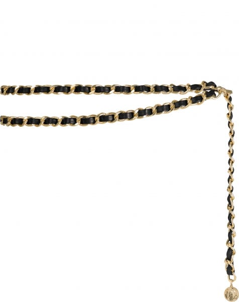 CHUNKY CHAIN BELT GOLD