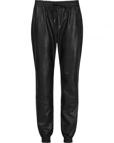 MW LEATHER JOGGER
