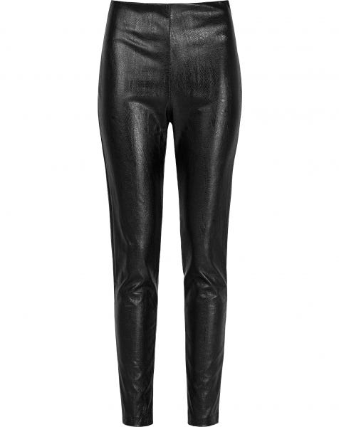 LEATHER SNAKE LEGGING