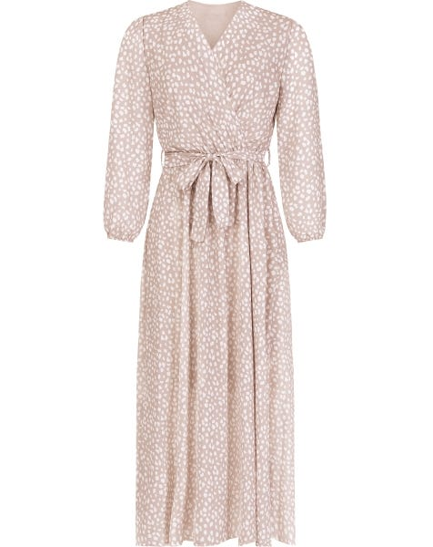 MAE MAXI DRESS CHEETA BEIGE