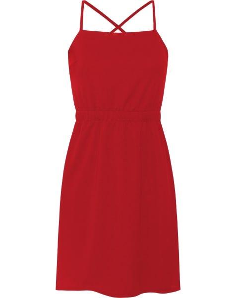LANA CORD DRESS RED