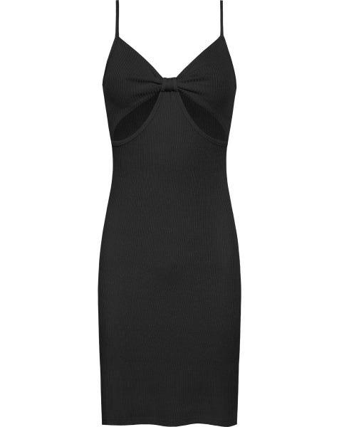 GRACE CUT OUT DRESS BLACK