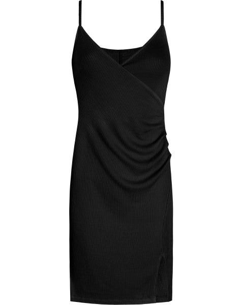 GRACE SLIP DRESS BLACK