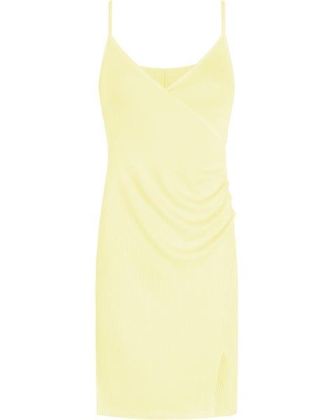 GRACE SLIP DRESS YELLOW