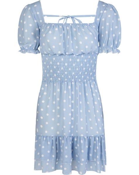 MAYA DRESS BLUE