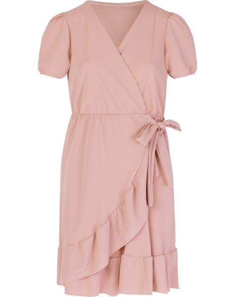 EMY DRESS DUSTY ROSE