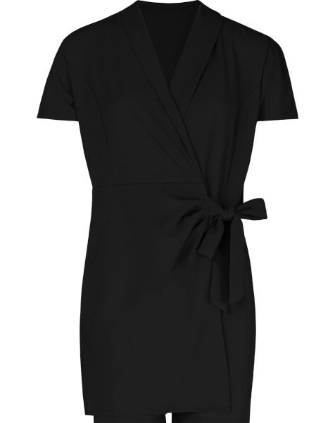 EMY PLAYSUIT BLACK