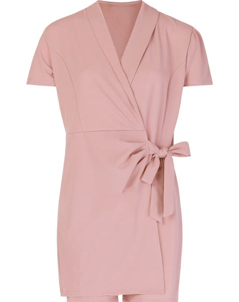 EMY PLAYSUIT DUSTY ROSE