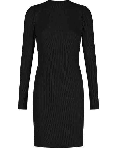 GRACE KNIT DRESS BLACK