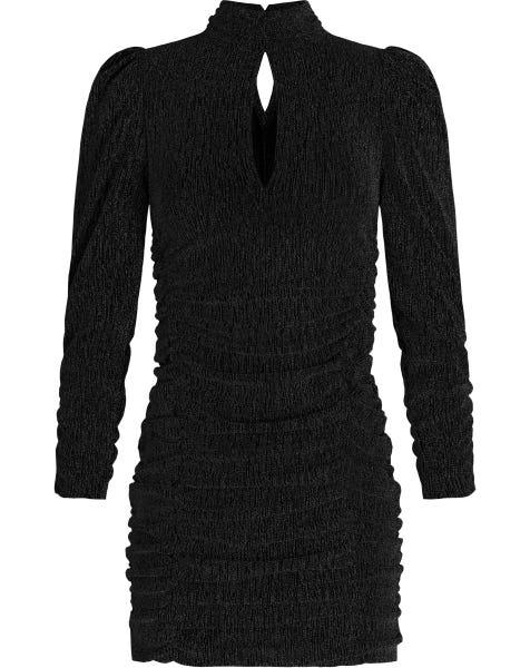 VAYEN GLITTER DRESS BLACK