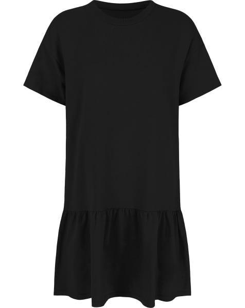 TSHIRT DRESS BLACK