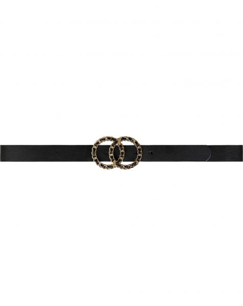 MW CIRCLE CHAIN BELT GOLD
