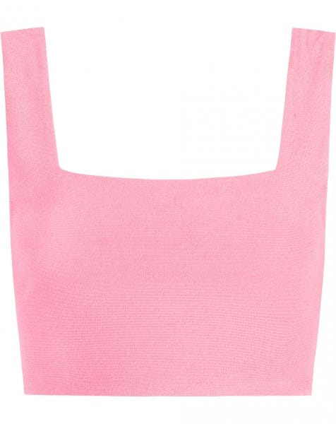 TERRY CLOTH TOP PINK