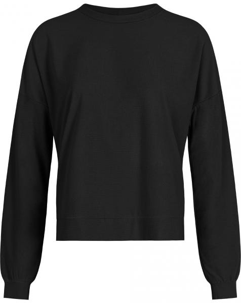 TERRY CLOTH SWEAT BLACK